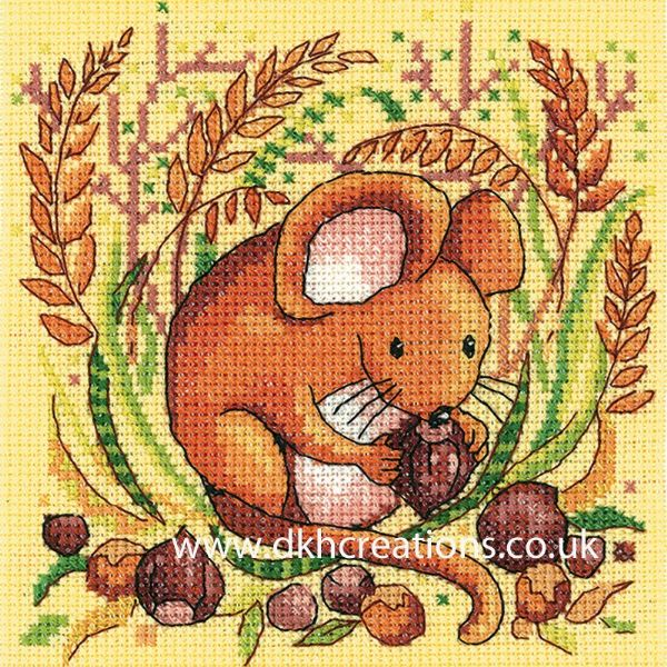 Mouse Cross Stitch Kit